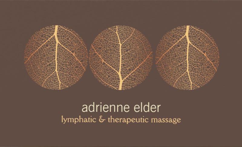 adrienne elder | lymphatic & therapeutic massage